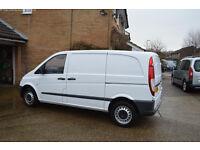 mercedes benz vito 113 Cdi great condition van, full history, MOT, 1 owner