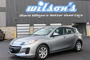 2013 Mazda MAZDA3 GX HATCHBACK! POWER PACKAGE! $51/WK, 4.74% ZER