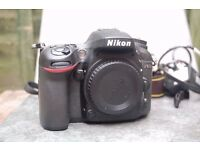Nikon D7100 body only with charger and strap