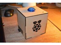 Raspberry Pi 3 - Model B + Google AIY (Home) + Accessories