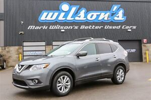 2014 Nissan Rogue SV AWD! $76/WK, 4.74% ZERO DOWN! PANORAMIC SUN