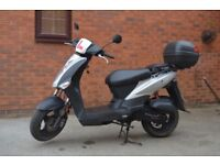Kymco Agility 50, Silver Moped 2013
