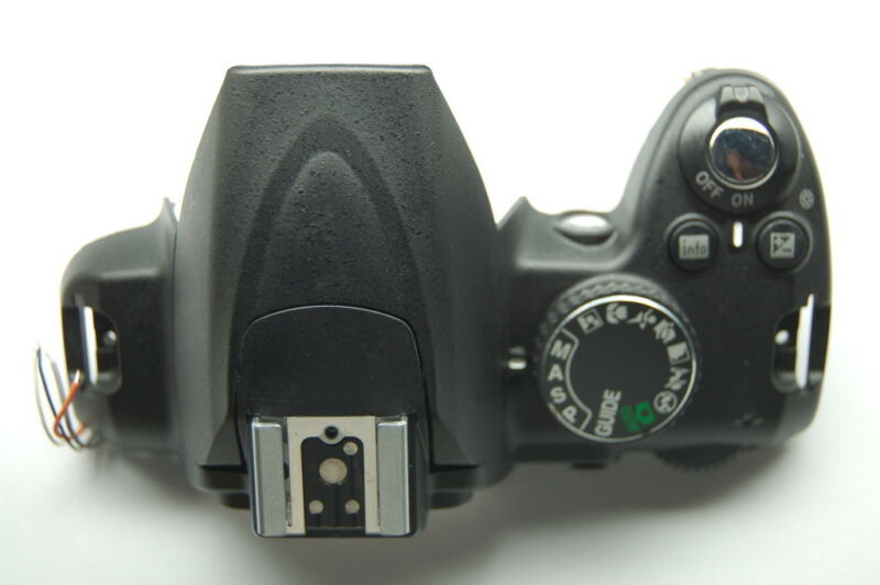 Nikon D3000 Camera Top Cover Cabinet Assembly Unit Replacement Repair Part