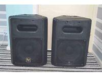 EV SB 120 Bass Speakers