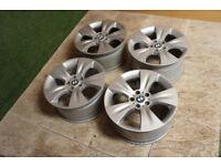 "Genuine BMW X5 19"" Alloy wheels 5x120 BMW 3 Series 5 Series Stance Alloys"