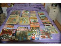 HUGE collection of Judge Dredd Comics and graphic novels