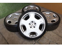 "Genuine OZ Opera Monoblock 18"" Alloy wheels 5x112 Mercedes VW Golf Passat Caddy Audi Alloys"