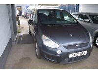2010 FORD S-MAX ZETEC TDCI 6G MOT UNTIL OCTOBER 2018