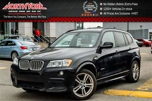 2014 BMW X3 xDrive28i M-Sport|Panoramic|Backup Cam|Tow Hitch|P