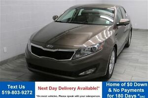 2013 Kia Optima EX w/ LEATHER! HEATED SEATS! BLUETOOTH! ALLOYS!