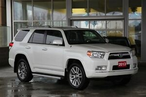 2013 Toyota 4Runner Limited 4WD V6 with Leather Moonroof & Navig