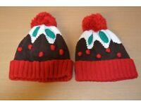 Christmas Hats x 2 (One Size)
