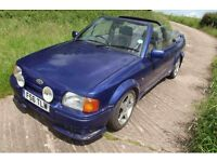 Mk4 Ford Escort Xr3i Cabriolet Spares/Repair Barn Find Project (with MOT)