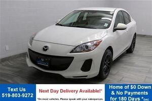 2013 Mazda MAZDA3 GX SEDAN! 5-SPEED! ALLOYS! POWER PACKAGE! AIR
