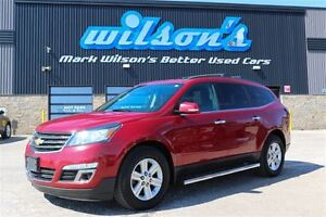 2013 Chevrolet Traverse 2LT AWD 7-PASS! PANO SUNROOF! REAR CAMER