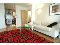 One bedroom flat in Elektron Tower with bills included. Balcony, gym, 24hr porter, East India DLR