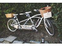 Wedding Tandem and Vintage Bike hire
