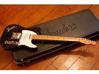 Fender USA Telecaster 1989. Midnight Blue, 3 pick ups, Fender 70s/80s hard case. Great guitar.