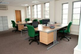 Cost Effective 8 Person Private Office £68 per person p/w includes Internet Phone lines and calls!