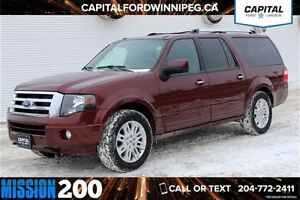 2012 Ford Expedition Max Limited *Power Driver Seat-Sunroof*