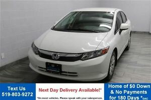 2012 Honda Civic LX SEDAN! 5 SPEED! POWER PACKAGE! AIR CONDITION