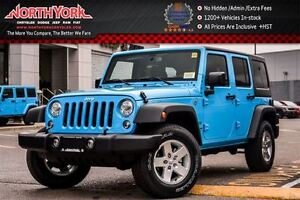 2017 Jeep WRANGLER UNLIMITED New Car Sport S 4x4 Cnnctvty,LED,Pw