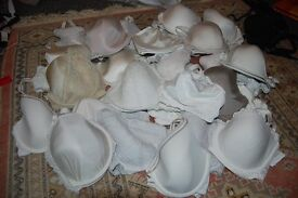 JOB LOT OF UNWANTED WORN BRAS. COLLECTION FROM WHITBY OR CAN POST.