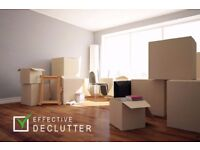 DECLUTTER SERVICE HOUSE CLEARANCE HELP WITH CLEANING