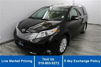 2013 Toyota Sienna XLE LIMITED! NAVIGATION! DVD! LEATHER! SUNROO