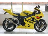 2005 Suzuki GSXR 600cc for sale at Long Eaton Motorcycles