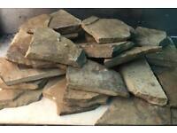 Natural stone slate (irregular) new, step stone, flag paving