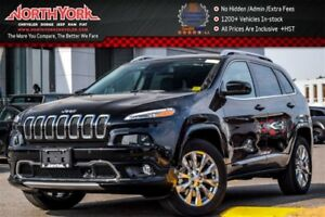 2018 Jeep Cherokee New Car Overland 4x4|Tech.Pkg|Pano_Sunroof|Na