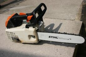 Stihl MS200T top handle chainsaw in excellent condition