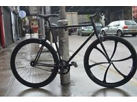 Brand new single speed fixed gear fixie bike/ road bike/ bicycles + 1year warranty & free service 1a