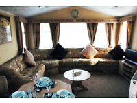 Butlins luxury 8 berth caravan for hire. Book now for October half term. DVD TVs all rooms,Wash mech