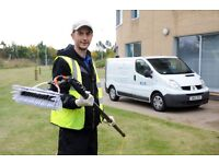 Professional and reliable window cleaner, based in Ipswich
