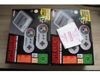 NEW Nintendo SNES MINI - New with 2 yr warranty