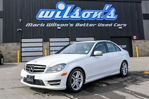 2014 Mercedes-Benz C-Class C250! $ 83/WK, 4.74% ZERO DOWN! SUNRO