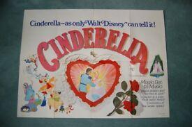cinderelia ' original vintage cinema poster