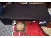 Massive Black Table