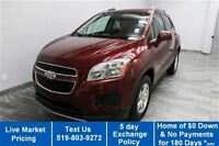 2013 Chevrolet Trax LT AWD w/ POWER PACKAGE! ALLOYS! CRUISE CONT