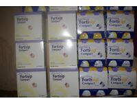 NUTRICIA FORTISIP COMPACT BANANA,VANILLA,APRICOT free uk post