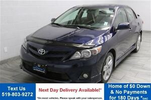 2011 Toyota Corolla XRS w/ SUNROOF! ALLOYS! SPOILER! POWER PACKA