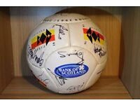 Partick Thistle Signed football 2003/2004 team