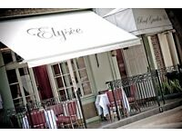 The Elysee Restaurant, London's West End - Chef de Partie required - permanent position