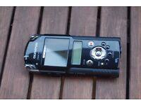 OLYMPUS LS-20M Linear PCM IC recorder 24bit/96kHz Full HD movie