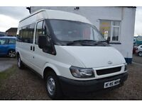 2004 Ford TRANSIT 300 MWB MINI BUS 9 seat in GOOD Condition with MOT Until 2017JULY