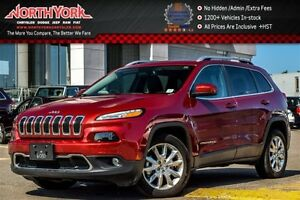 2016 Jeep Cherokee Limited |Nav|Back-UpCam|R-Start|Leather|Bluet