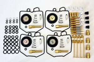 HONDA CB750 CARB CARBURETOR REBUILD REPAIR KIT (4KITS) & 4 AIR CUT OFF VALVE kit