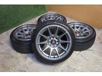 "Genuine AXE EX8 15"" Alloy wheels 4x100 & 4x108 Alloys wheels Clio Corsa Civic MX5 Yaris XXR"
